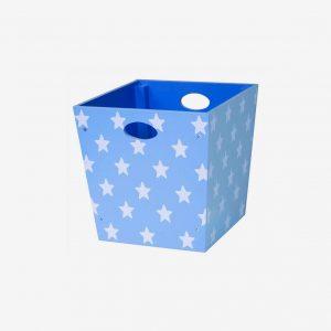 Förvaringsbox star, ljusblå