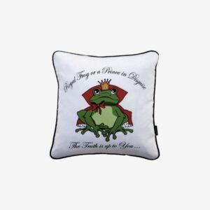 Kudde royal frog, vit/grön