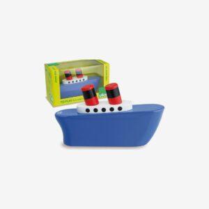 Leksaksbåt i trä, Blue Liner