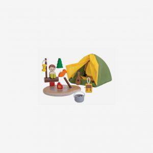 Lekset camping
