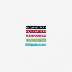 Linjal, olika färger ( Svart )