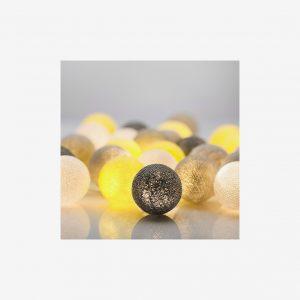 Ljusslinga California, 20 bollar