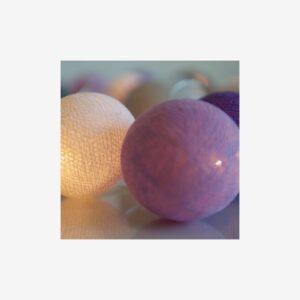 Ljusslinga Lavender, 20 bollar