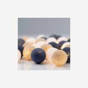 Ljusslinga Nordic Blue, 20 bollar
