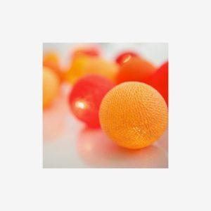 Ljusslinga Tangerine, 20 bollar