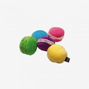 Macaron i tyg, grön