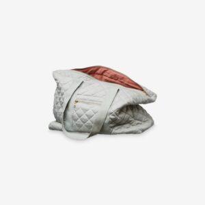 Mummy bag, grey/blush