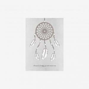 Poster Dreamcatcher 50×70, grey