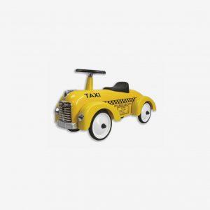 Sparkbil i metall taxi