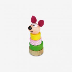 Stapelhund Miss Wawa, rosa