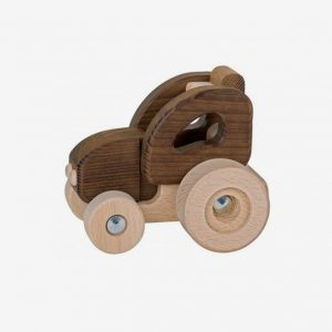 Traktor i trä, ekologisk