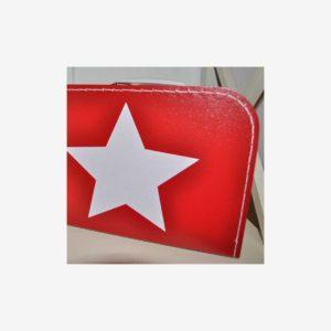 Väskor stjärna, röd