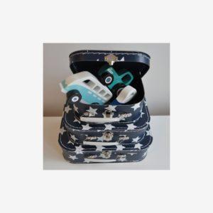 Väskor stjärnor, marinblå