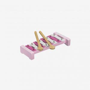 Xylofon stjärnor, rosa
