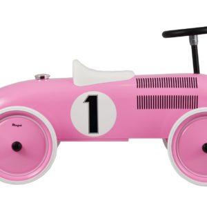 Gåbil sparkbil rosa