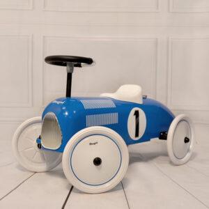 Gåbil sparkbil blå