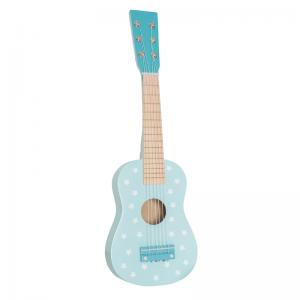 Gitarr stjärnor, blå/vit