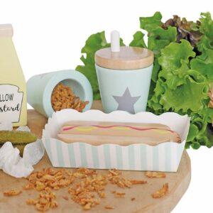 Korv och bröd meal