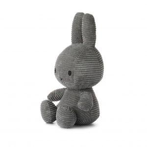 Miffy kanin grå 33 cm