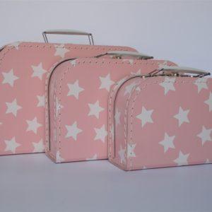 Väskor stjärnor rosa