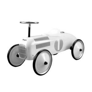 Gåbil sparkbil vit
