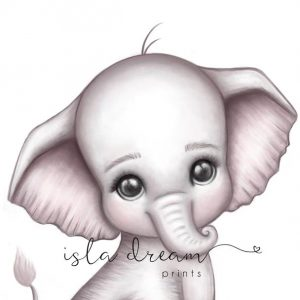 Poster Theodore elefant