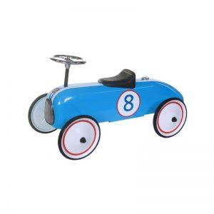 Sparkbil blå racer