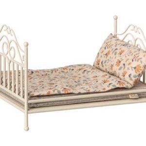 Vintage säng för Maileg sandfärgad