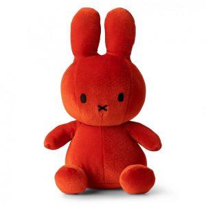 Miffy kanin velvet orange 23 cm