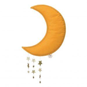 Mobil måne gul