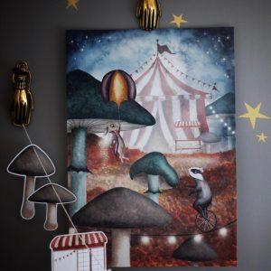 Poster cirkus