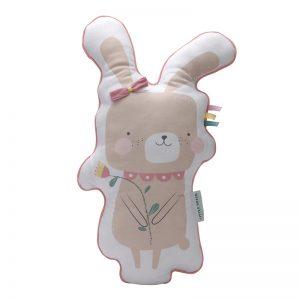 Kudde kanin rosa