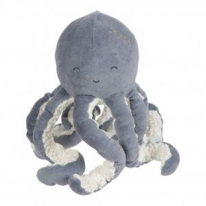 Gosedjur bläckfisk blå