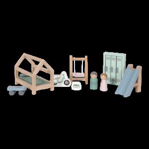 Möbler till dockhus, barnrum
