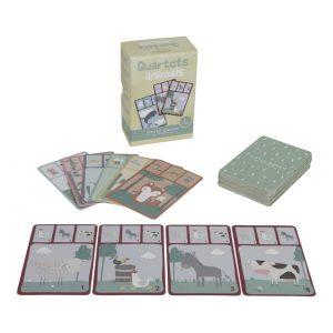 Kortspel med djur