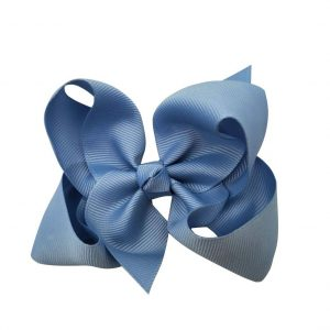 Rosett blå medium 8 cm