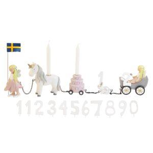 Födelsedagståg prinsessor