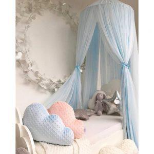 Sänghimmel Ecarla blå