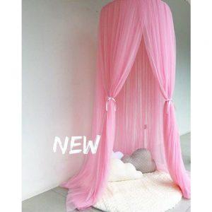 Sänghimmel Ecarla rosa