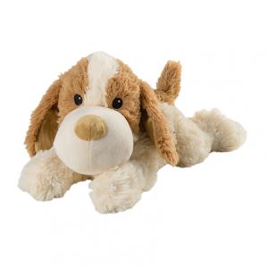 Warmies hund brun/vit